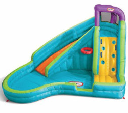 Little Tikes - Slam 'N Curve Slide & Pool Inflatable