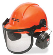 stihl – deluxe a helmet with visor