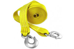 "Capri Tools - 2"" x 20' Heavy Duty Tow Strap with Hooks"