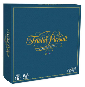 Trivial Pursuit Board Game – Classic Edition