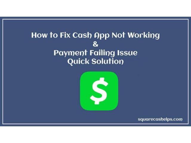 how do i fix my cash app failed for my protection