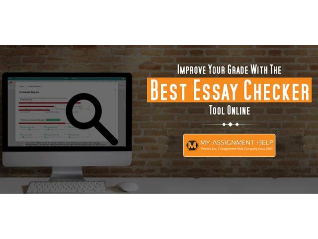 Essay Checker - My Assignment Help