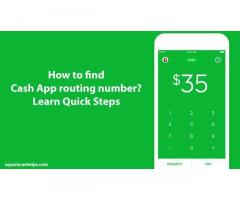 How to find Cash App routing number?