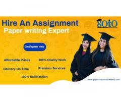 Get assignment Writing Help Online | Goto Assignment Expert