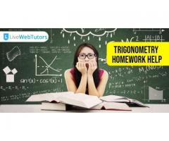 Avail the service of Trigonometry Homework Help