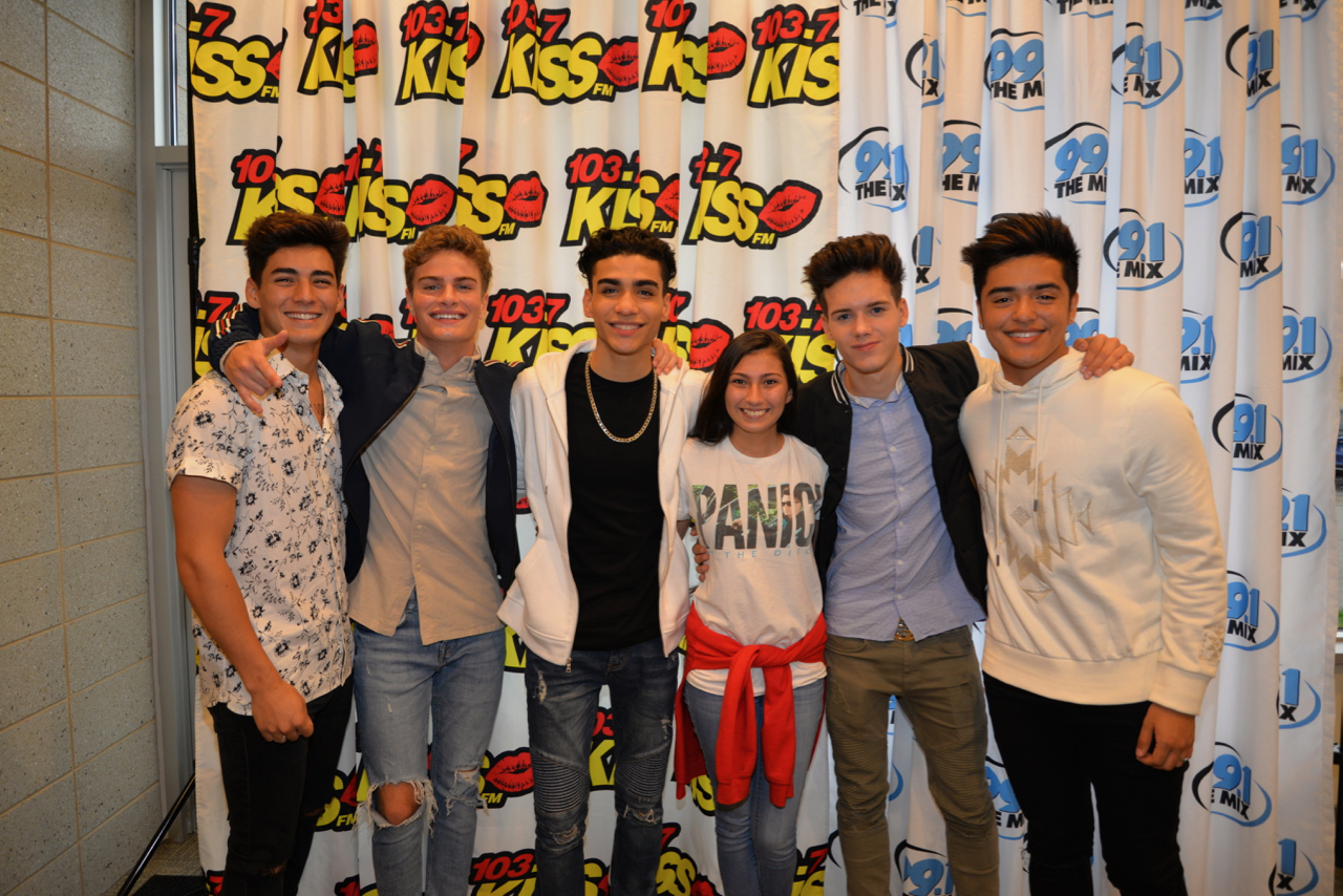 In real life meet and greet pictures 1037 kiss fm m4hsunfo