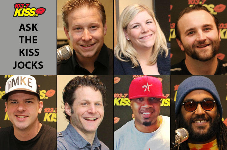 Ask the KISS Jocks with Riggs, Alley, Gibbons, JMatt, Kraig, DJ Gee-A, and Z.