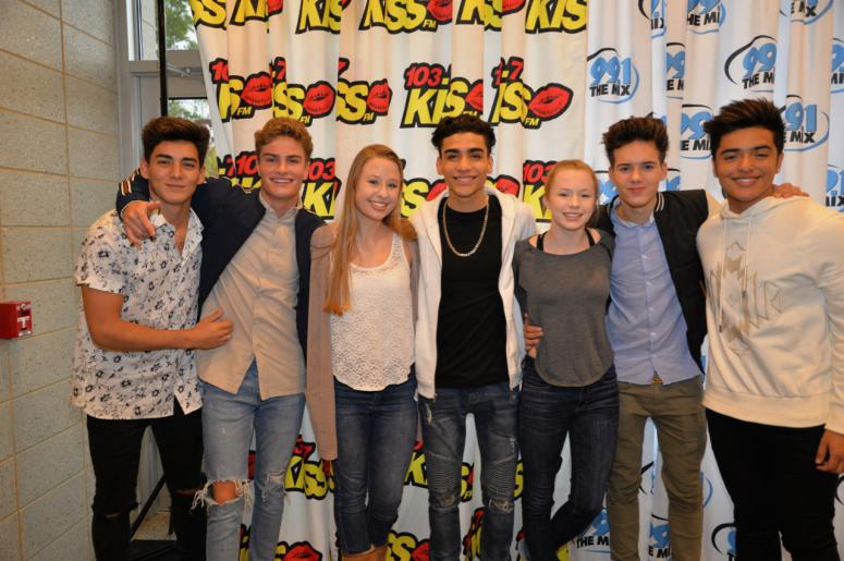 In real life meet and greet pictures 1037 kiss fm undo m4hsunfo