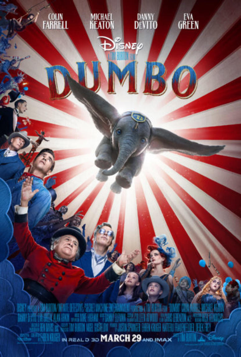 Dumbo movie promo