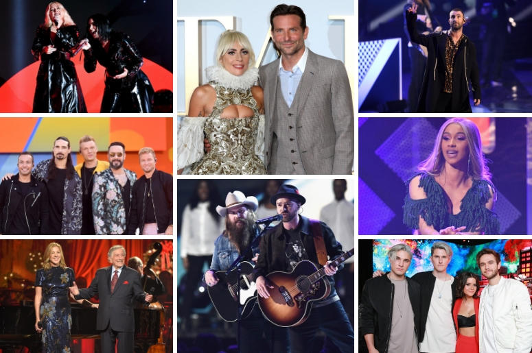 Best Pop Duo/Group Performance Nominees