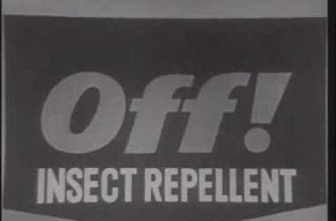 Classic Off Bug Spray Commercial  -  1960