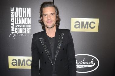 Recording artist Brandon Flowers attends the Imagine: John Lennon 75th Birthday Concert at Madison Square Garden