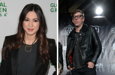 Patrick Carney of The Black Keys and Michelle Branch