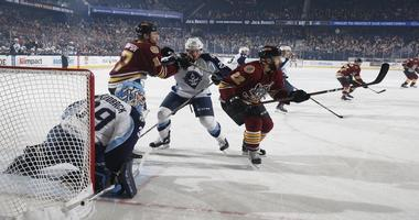 Admirals Fall 5-1 in Chicago