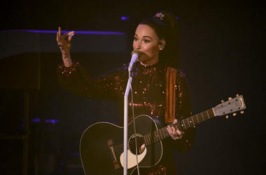Kacey Musgraves performs at The Theatre at Ace Hotel on February 14, 2019 in Los Angeles