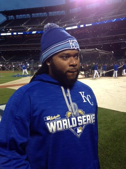Cueto before Game 5