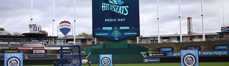 Hit for Your Seats Media Day at the K