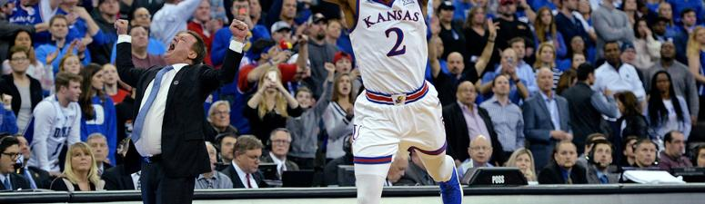 Not Even Self Thought KU Was a F4 Team