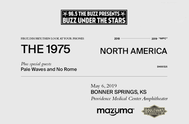 Buzz Under The Stars with The 1975