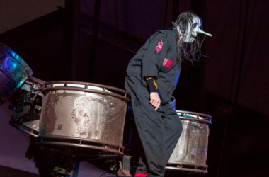 Chris Fehn of Slipknot at Toyota Park during Open Air Chicago on July 17, 2016, in Chicago, Illinois