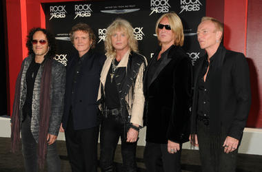 Vivian Campbell, Rick Allen, Rick Savage, Joe Elliott, Phil Collen, Def Leppard