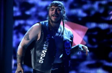 Post Malone performs onstage at the 2017 BET Awards at the Microsoft Theater on June 25, 2017 in Los Angeles, California