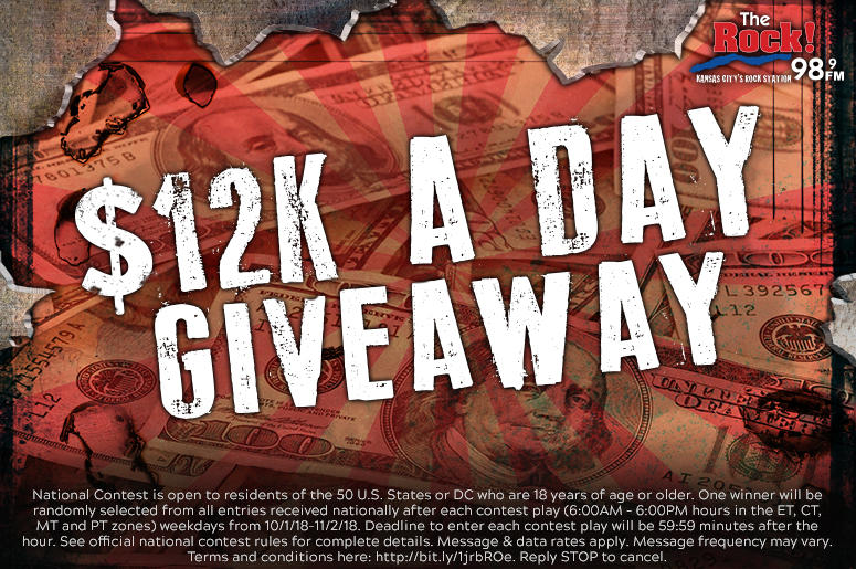 The $12K A Day Giveaway