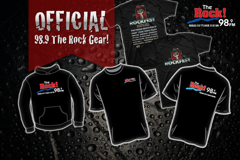 98.9 The Rock! official merch