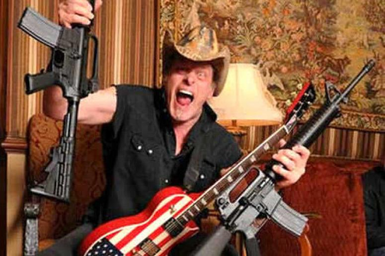 ted nugent announces sonic baptizm tour dates 98 9 the rock kansas city. Black Bedroom Furniture Sets. Home Design Ideas