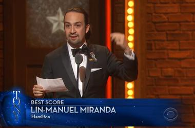 Lin-Manuel Miranda's Sonnet/Speech from the 2016 Tonys