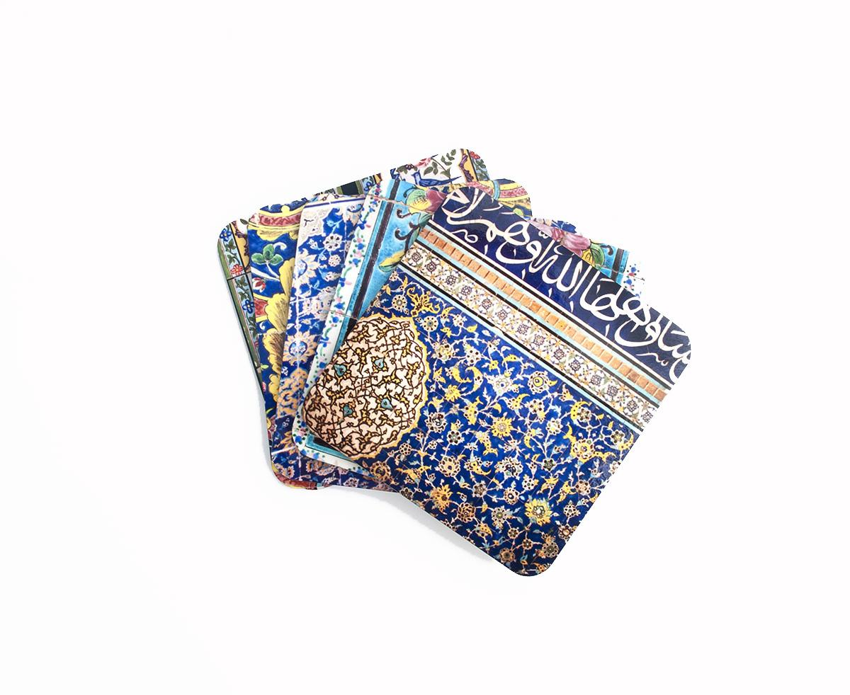 Persian Tile Design Coasters Tiles Ceilings Walls