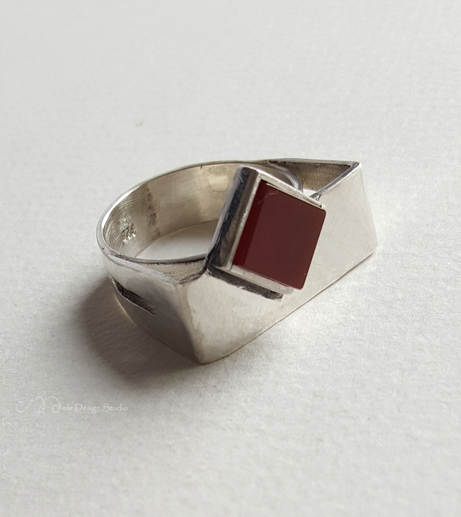 Details about  /Handmade 925 Sterling Silver Natural Brown Agate Stone MEN/'s RING #823