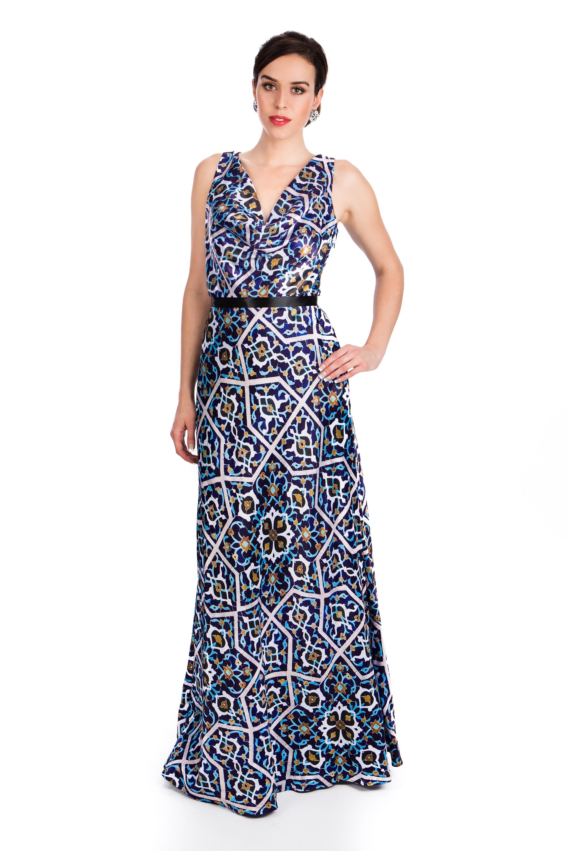 Persian KAASHI DRAPES DRESS