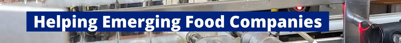 Emerging Food Companies header