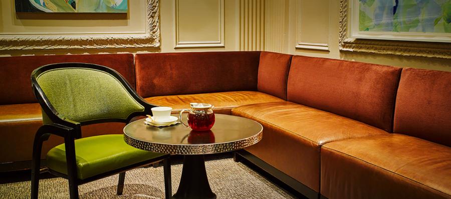 Pierre New York Hotel Lobby seating area