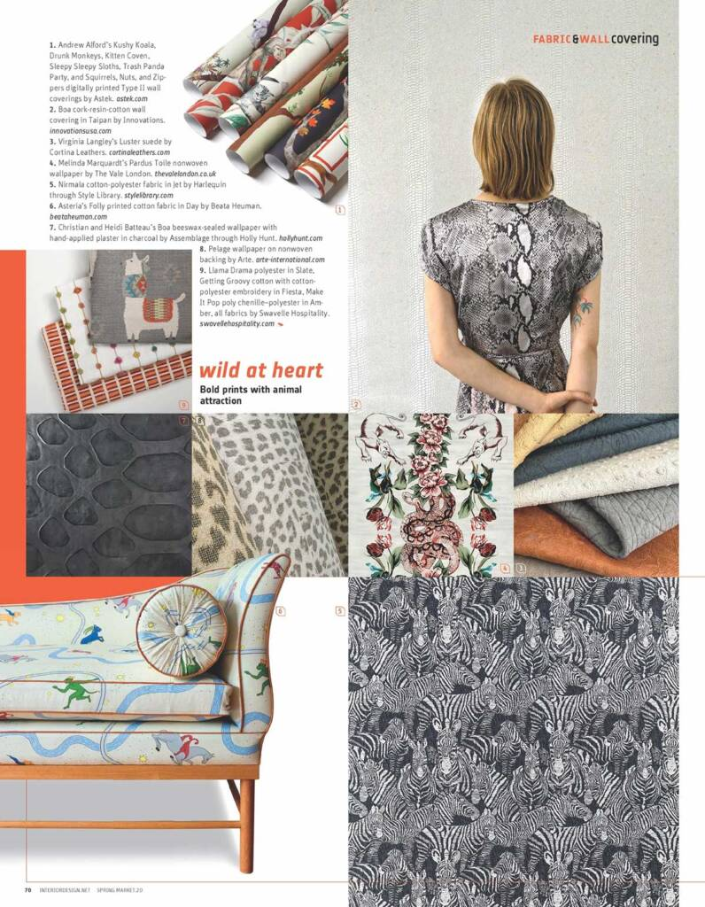 Interior Design magazine scan