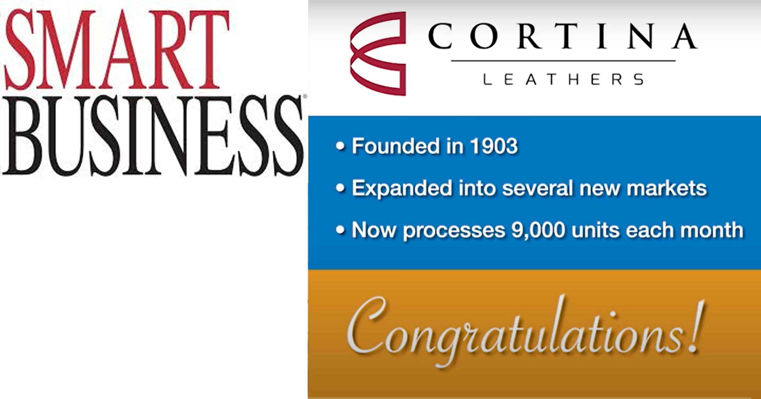 Cortina Leathers Smart Business Magazine