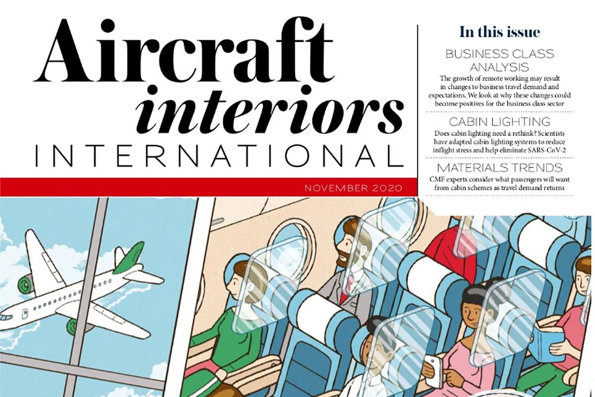 Cortina Leathers Aircraft Interiors International