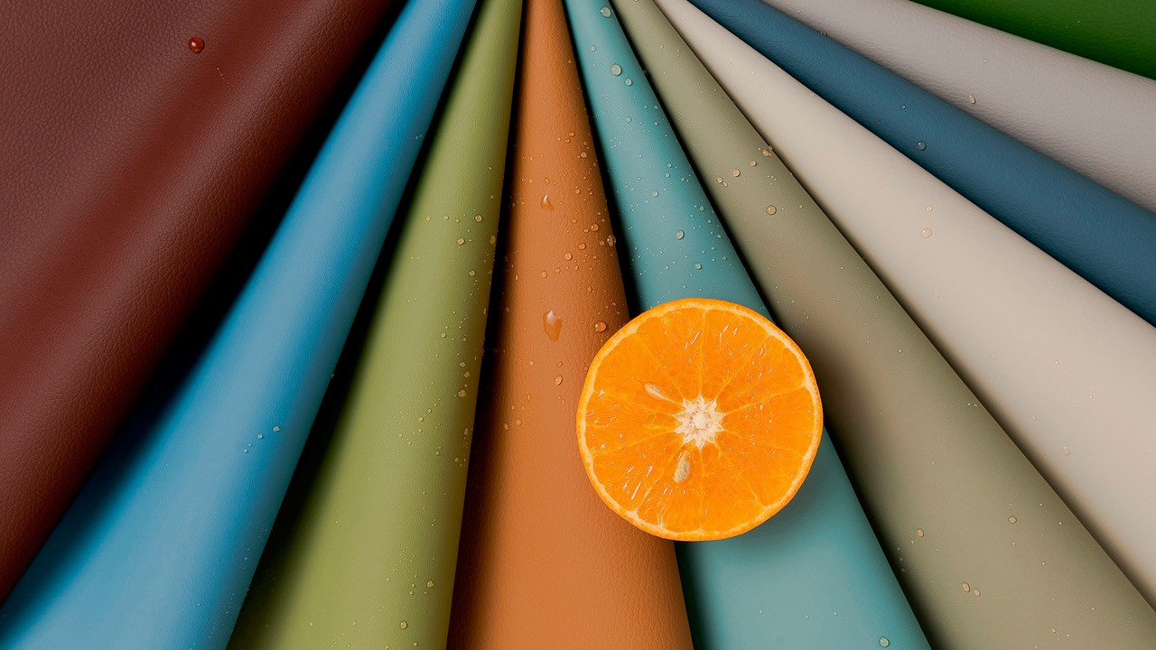 Cortina Leathers Silicone Fabric multicolored bolts
