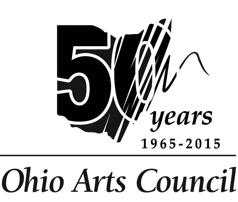 Ohio Arts Council 50th Anniversary logo 02.13.15