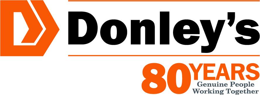 Donley's 80_Logo_3in