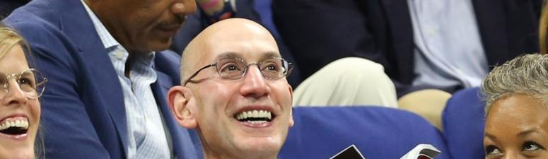 NBA Commissioner Adam Silver Monday (10/16) at 8am on 92.9 FM ESPN