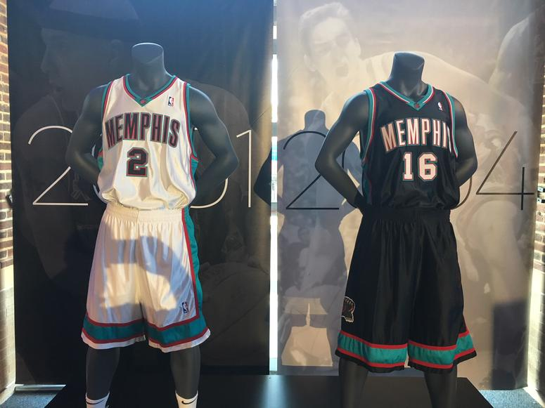 memgrizz jerseys throughout history pic.twitter.com bzl7t9Re6l cf299fae5