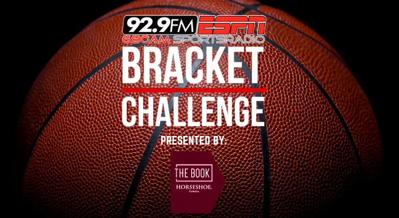 The Book at Horseshoe 92.9 Bracket is HERE NOW!