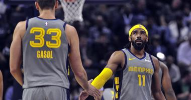 Grizzlies Improve to 5-0 at Home, Beat Sixers 112-106 in OT Sat. at FedExForum (AUDIO)