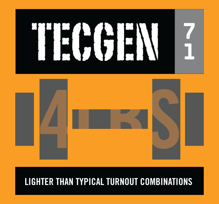 TECGEN71 Outer Shell 4lbs lighter symbol
