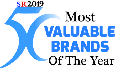 50 Most valuable brands of the year 2019