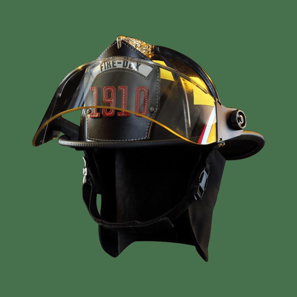Fire-Dex Traditional Helmet - Black