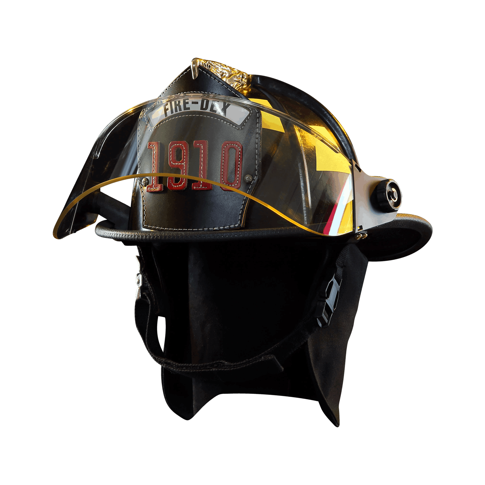 Fire-Dex Traditional Helmet - Black