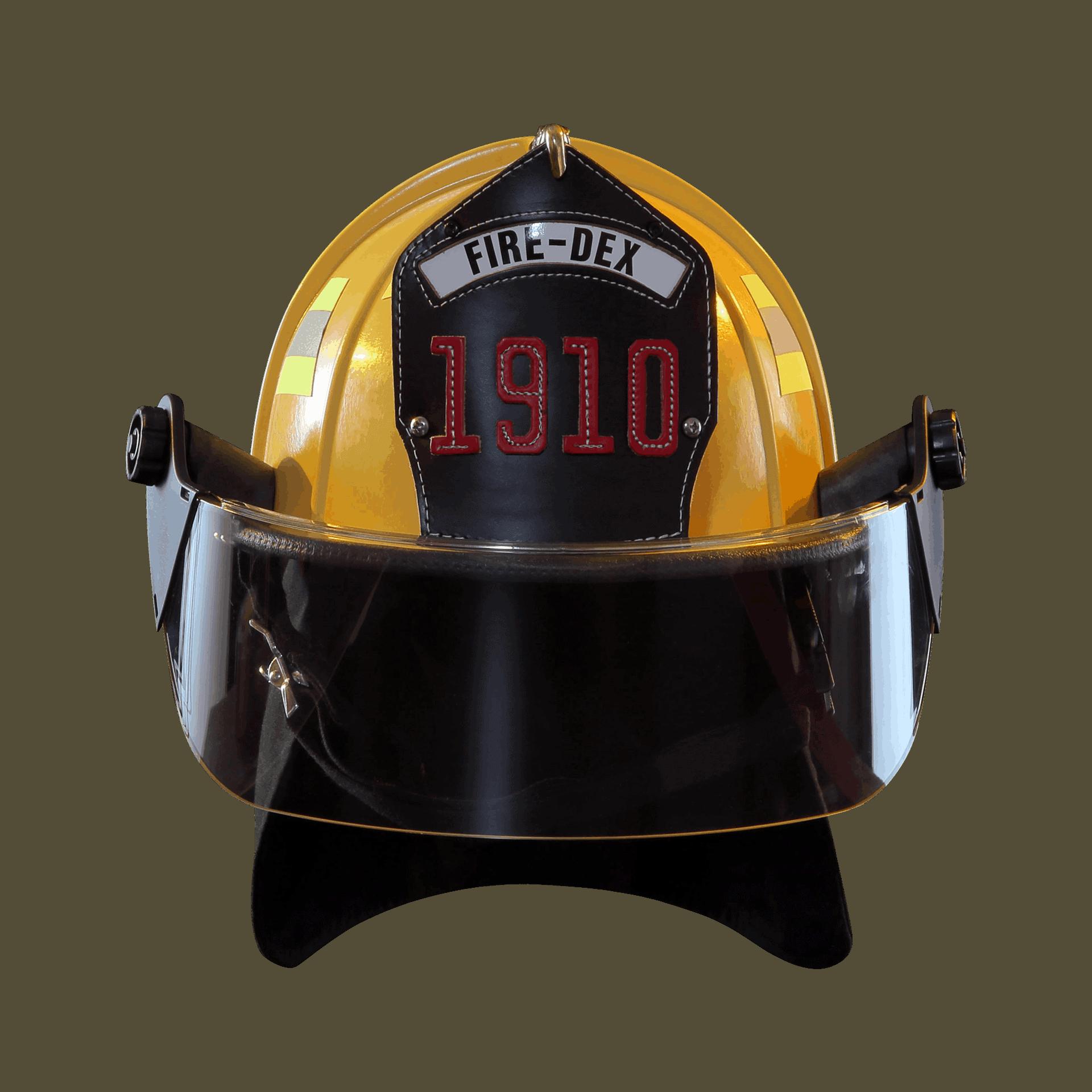 Fire-Dex Traditional Helmet - Yellow